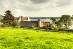Parkes Castle. County Leitrim in Ireland Stock Photos