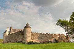 Parkes Castle. County Leitrim in Ireland Stock Image