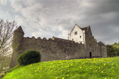 Parkes Castle in Ireland Stock Photos