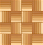 Parkett-Fußboden-Abbildung Stockbild