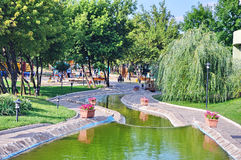 parkflod Royaltyfria Foton