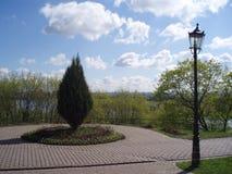 Parkgarten squere lizenzfreie stockfotografie