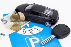 Parkgebühr Lizenzfreie Stockfotos
