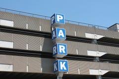 Parkhaus Stockfotografie