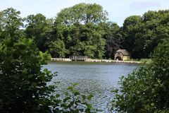 Parki i jeziora Dani Zdjęcia Stock