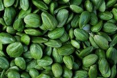 Parkia speciosa ist Hülsenfrüchte des thailändischen Gemüses lizenzfreie stockbilder