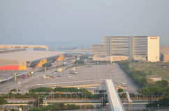 Parking à l'aéroport de Hong Kong Image libre de droits