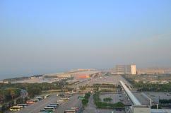Parking à l'aéroport de Hong Kong Images stock