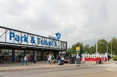 Parking à l'aéroport de Schiphol Photo libre de droits