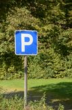 parking стоковое изображение