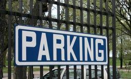 parking fotografia royalty free