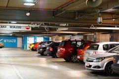 Parking Foto de archivo libre de regalías