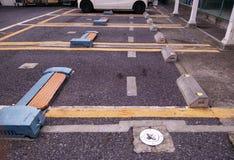 Parking Photographie stock libre de droits