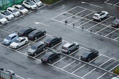 Parking Obraz Stock