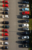 Parking. Cars on parking royalty free stock photography