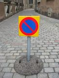 parking żadny znak Fotografia Royalty Free