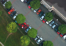 Parking from the air Royalty Free Stock Photos