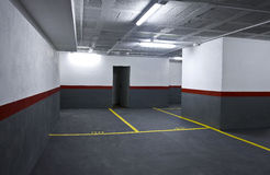 Parking alone Royalty Free Stock Photography