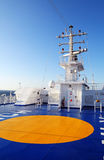 Parking Apron. A parking apron on vessel Royalty Free Stock Image