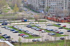 Parking Royalty Free Stock Photography