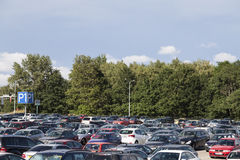 Parking area Royalty Free Stock Image
