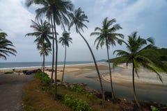 Parking Area near Khawne Beach,Sindhudurga,Maharashtra,India. Asia royalty free stock image