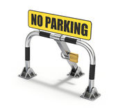 Parking barrier Royalty Free Stock Image