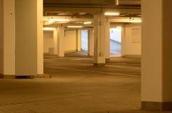 Parking basement in koege denmark Royalty Free Stock Photography