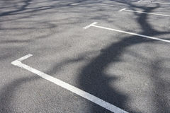 Parking bays Royalty Free Stock Images