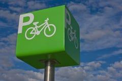 Parking bicycle Stock Photos