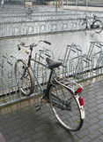 Parking for bicycles Stock Photos