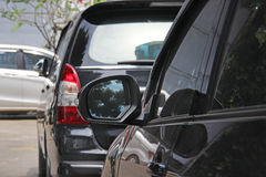 Parking cars business class Royalty Free Stock Photography