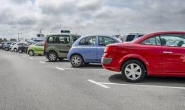 Parking cars close up. Stock Photography