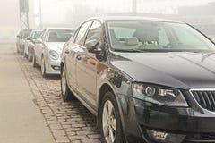 Parking cars Royalty Free Stock Photos