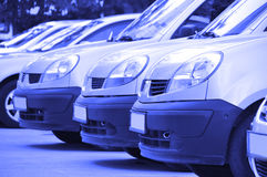 Parking cars Royalty Free Stock Images