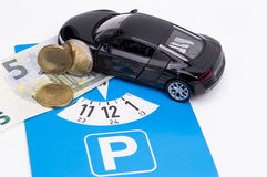 Parking Charge Royalty Free Stock Photography