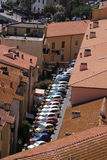 Parking in the city Royalty Free Stock Photography