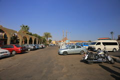 Parking in Egypt Stock Image