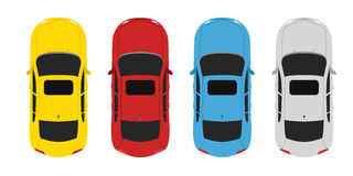 Parking color up Royalty Free Stock Photography