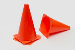Parking cone. Parking cone on a white background Royalty Free Stock Image
