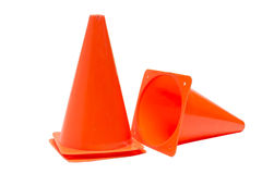 Parking cone. Parking cone on a white background Royalty Free Stock Photography