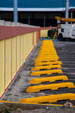 Parking Curbs Royalty Free Stock Photo