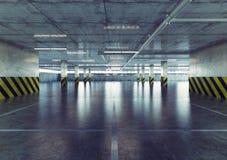 Parking. 3d concept. Urban empty parking. 3d concept Stock Photo