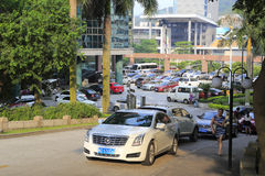 Parking d'hôtel de Xiamen Photo libre de droits