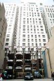 Parking dans NYC Photographie stock libre de droits