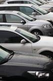 Parking de véhicule Photos stock