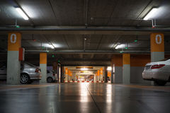 Parking del aeropuerto Imagenes de archivo