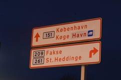 Danish directory Stock Photo