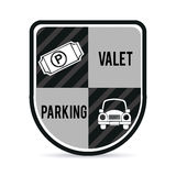 Parking design Royalty Free Stock Images