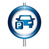 Parking design Stock Photography
